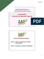 Instrumentos de EDUCACIÓN ESPECIAL  %28SAS%29