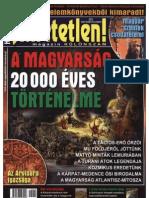 A magyarság 20000 éves történelme. Hihetetlen Különszám 2012-Szeptember-November