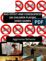 Bad Effect and Cosequences on Children Playing