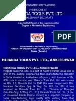 Miranda Tools - Ankleshwar