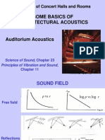 1 Auditorium Acoustics