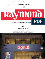 RAYMOND FOR THE COMPLETE MAN