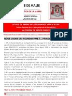 Fraternité Ste Flore - 03 2013 - Numéro Spécial François Ier