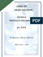Libro de Trabajo Profesor Medalla Milagrosa