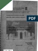 2005-UNA MIRADA COMUNICACIONAL AL MUNICIPIO DE CORONEL MOLDES
