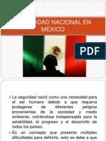 Seguridad Nacional en Mexico