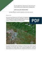 Informe Inundaciones de Tamboril
