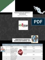 Mortalidad en México y Zacatecas