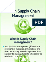 2441 Green Supply Chain Management