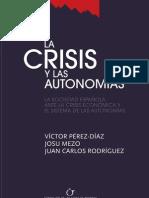 La crisis y las autonomías