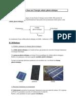 Cours Photovoltaique