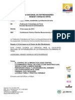 Colombia - Curso de Neurociencias y Tenis
