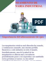 Alineamiento de Maquinaria Industrial