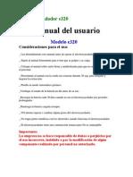 Manual Electroeyaculador Porvac