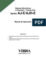 Manual de Operación Vibra AJ-E