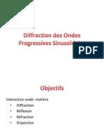 Physique - chap 7 - COURS Diffraction des Ondes Progressives Sinusoïdale