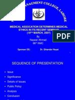 Development of Medical Ethics26!03!07