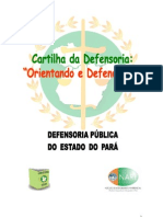 Defensoria Publica - Cartilha_nare ( Orientando e Defendendo )