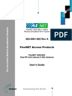 Airspan FlexNET ASN-900 User Guide Access Products 2.2 v1.0