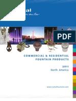 2012 Crystal Fountains Catalog