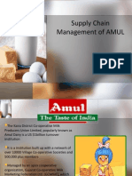 Supply Chain Management Amul
