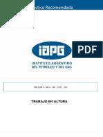 Vf_pr_06 Practicas Recomendadas Trabajos en Alturas - Iapg