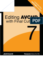 White Paper Editing AVCHD With FCP7 2