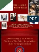 Heating Season Fire Safety
