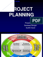 Steps in Project Planning
