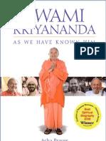 Asha Praver - Swami Kriyananda as We Have Known Him