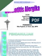 Simulasi Kasus Dermatitis Alergika