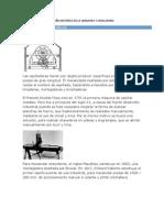 RESEÑA HISTORICA DE LA LIMADORA Y CEPILLADORA