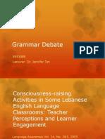 Grammar Debate