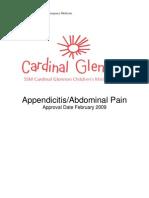 Appendicitis and Abdominal Pain 7.09