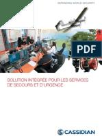 Cassidian Solution Integree Pour Les Services de Secours Et Durgence