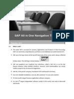 SAP User Navigation