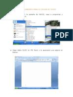 Ofimatica Basica - Procedimiento Para El Editor de Texto