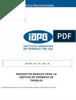 Vf_pr_03 Practicas Recomendadas Permisos de Trabajo