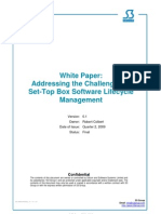 Challenges of STB Software Lifecycle Management