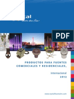 2012 Crystal Catalog - Spanish (Metric)