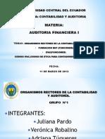 Presentacion Auditoria Grupo 1