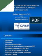 Le béton compacté au rouleau (BCR)