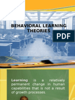 BEHAVIORAL LEARNING THEORIES.ppt