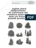 Reglas Para Dterminar Volumen De Madera Aserrada.pdf