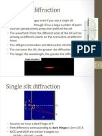 P2 Week 10 - Diffraction & Spectra