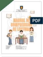 MANUAL DE COMPRENSIÓN DE LECTURA 1