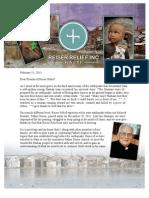 Reiser Relief Feb 2013 Haiti Newsletter