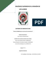 Sistema Kanban Para Un Proceso de Manufactura