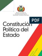 Nueva Constitución Política del Estado Plurinacional de Bolivia