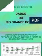 REDE DE ESGOTO (DADOS DO RIO GRANDE DO SUL)